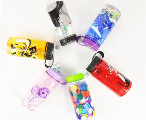 安裕Aqua zillion 16OZ/450ml水瓶 多种花色随机发送