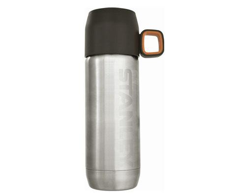 史丹利Stanley 01041-034 470ml双层不锈钢真空保温水瓶-银色
