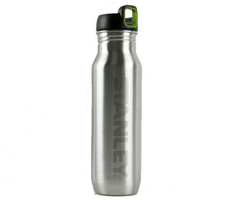 史丹利Stanley 01042-030 700ml不锈钢运动水瓶-银色