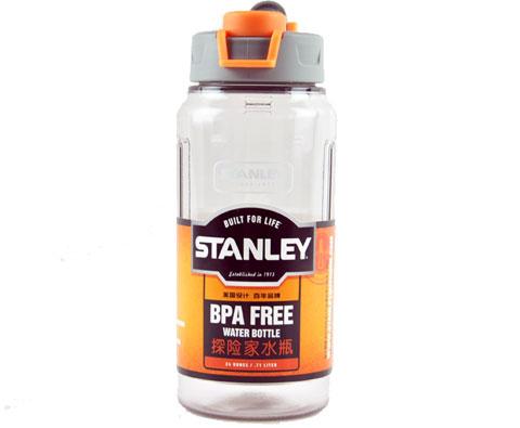史丹利Stanley 00881-009 700ml户外系列探险家健康水瓶-烟灰色