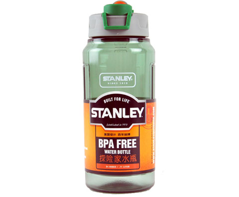 史丹利Stanley 00881-007 700ml户外系列探险家健康水瓶-绿色