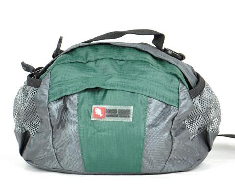 硬骨HARDBONE HB11103 贝尔加II 墨绿色多功能腰包,腰包挂包经典结合