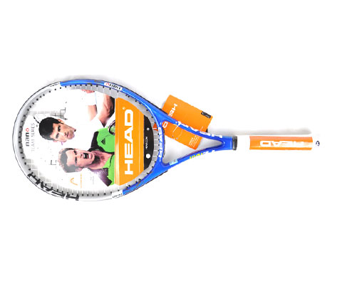 HEAD海德 Nano Ti Tour Ten网球拍蓝色款100拍面 蓝色冰晶