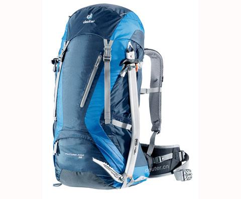 多特Deuter 34271 Futura Pro 38登山包,蓝/绿/二色可选