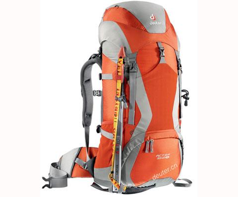 多特Deuter 33720 ACT Lite 35+10 SL 登山包,午夜蓝/橙子银两色可选
