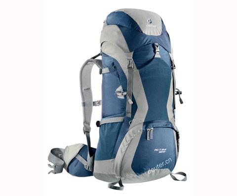 多特Deuter 33750 ACT Lite 50+10 登山包,午夜蓝/火红色两色可选