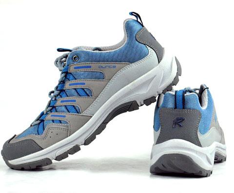 遨游仕ounce R302 蓝灰色越野跑徒步鞋,徒步鞋中的黑马!