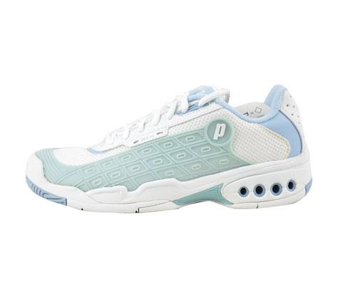 Prince王子 OV1白蓝 (8P962-746) 女款网球鞋