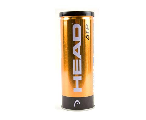 HEAD海德ATP大师赛官方用球金装版网球(海德黄金球)(3只铁罐装)