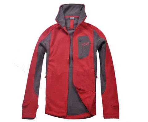 诺诗兰Northland 普拉塔男式绒外套 红色 GF125504