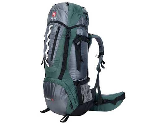 硬骨HARDBONE HB11101 岱山II 70L 登山背包 绿色