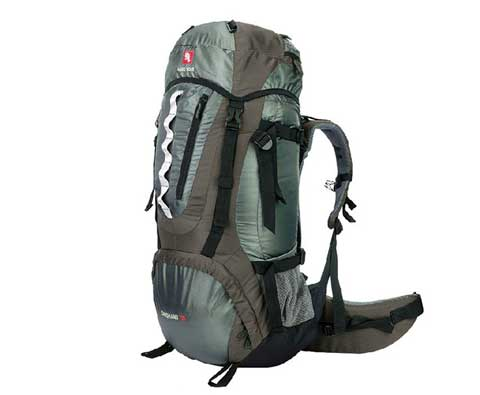 硬骨 岱山II 70L 登山背包 灰色(HARDBONE HB11101 )