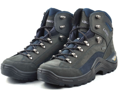 LOWA RENEGADE II GTX LAT12202 女式中帮鞋 深灰/藏青色 独立与自信的优雅