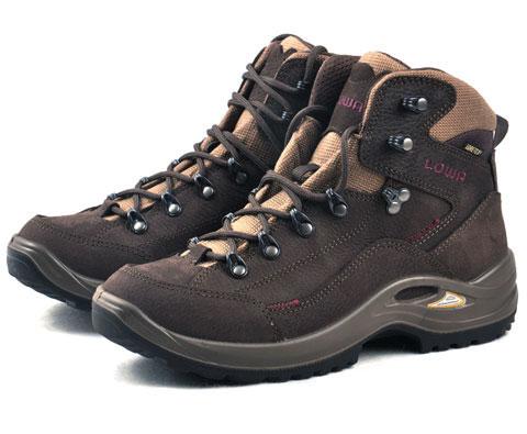 LOWA KODY GTX MID WS LAT12205 女式中帮鞋 棕色/深紫红色