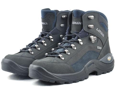 LOWA RENEGADE II GTX LAT12506男式中帮徒步鞋/登山鞋 深灰/藏青色