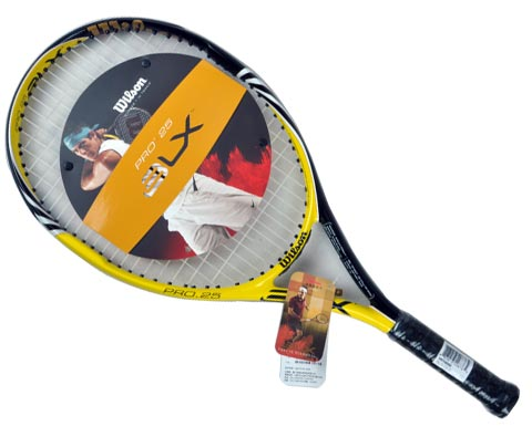 wilson维尔胜 BLX Pro 25 (T5303)儿童网球拍,未来冠军的儿时用拍