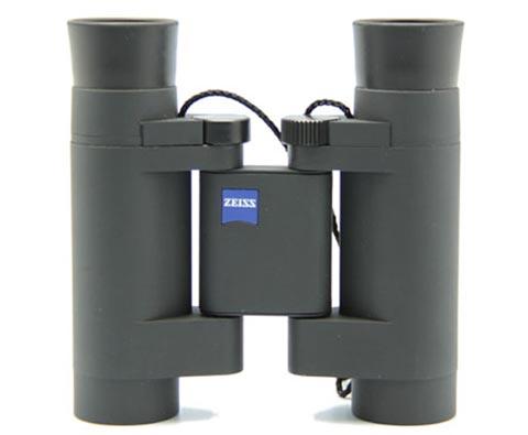 德国蔡司ZEISS 522073征服便捷式望远镜 8x20T* 黑色 轻巧折叠 旅游便携