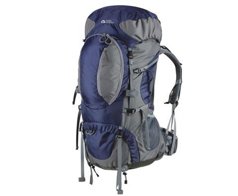 牧高笛 MB112005 先锋 55+8L 登山包 夜幕蓝 长线徒步利器
