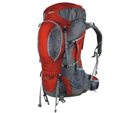 牧高笛 55+8L 多功能登山包(先锋)MB112005 砖红色 长线徒步利器