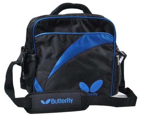 Butterfly蝴蝶 单肩背乒乓球包 TBC-884 黑蓝(附鞋袋)