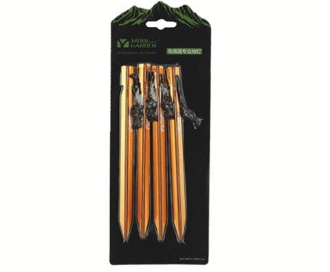 牧高笛 NXF1228006专业加强三菱地钉 橙色
