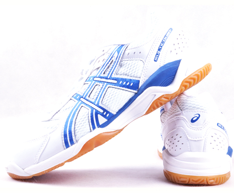 ASICS爱世克斯 蓝风乒乓球鞋B000D-0142 (王者之路上的伴侣)