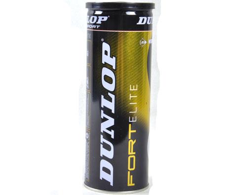 Dunlop邓禄普 (601137)Fort Elite 铁桶 3个装网球,世界第一网球(防水网球)
