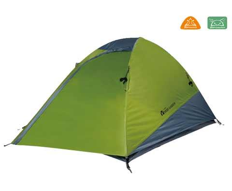 牧高笛TREK2双人双层玻杆帐篷 橄榄绿
