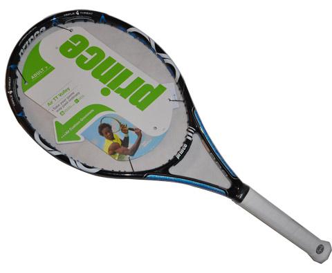 Prince王子 7T04C AIR TT Volley MP 网球拍,蓝色轰炸机