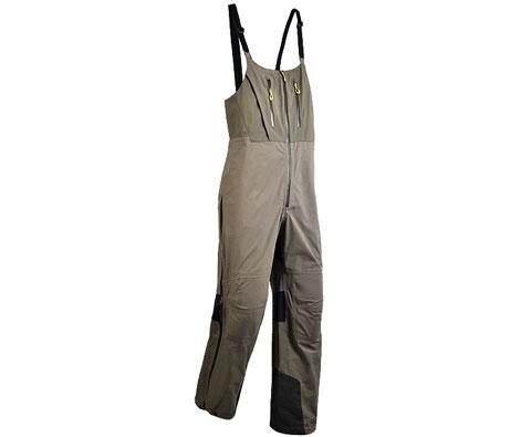 凯乐石KG131712 男款3层极限冲锋背带裤 褐绿(玄翼)