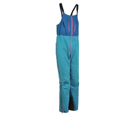 凯乐石KG141712女款3层极限冲锋背带裤 幽蓝(玄翼)