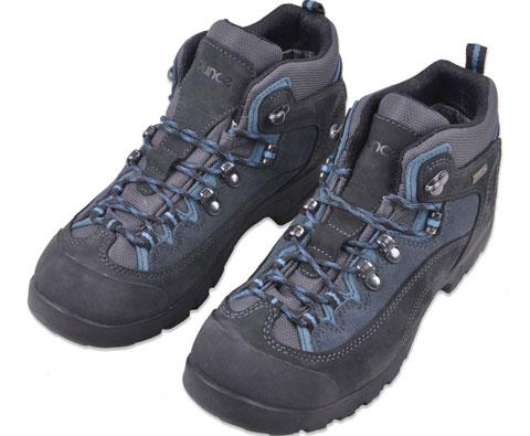 遨游仕OUNCE T10负重徒步鞋 黑蓝色