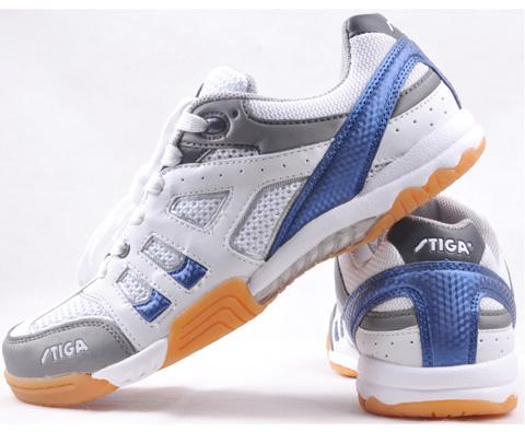 斯蒂卡stiga G1208057蓝色专业乒乓球运动鞋(新款海蓝防滑特护战靴)