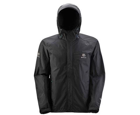 凯乐石Kailas KG112292男款两层冲锋衣(猎风7) 黑色 经典畅销