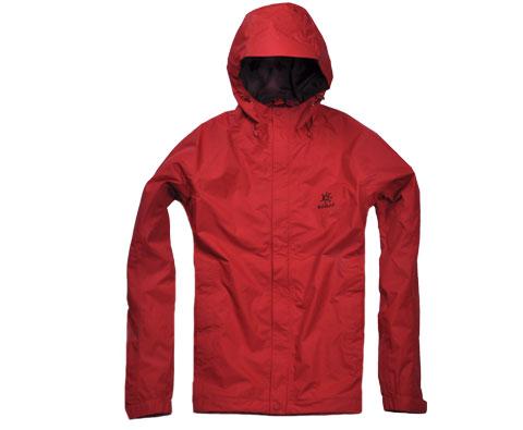 凯乐石Kailas 男款两层冲锋衣(猎风7)KG112292 棕红 经典畅销款