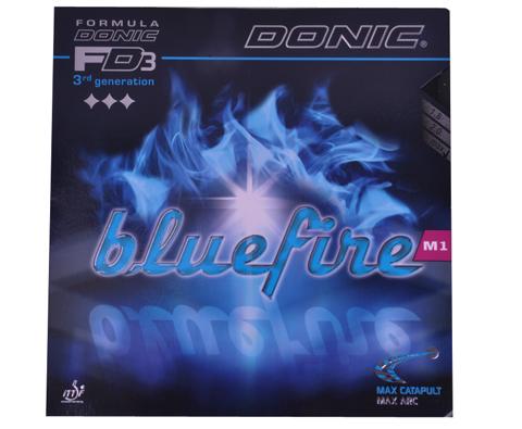 多尼克 蓝火 M1 Donic Bluefire M1(12091)反胶套胶(蛋糕海绵,挑战速度旋转的极限)