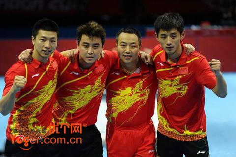 李宁国家队比赛服 AQCG025-1(红色)伦敦奥运限量版龙头套装