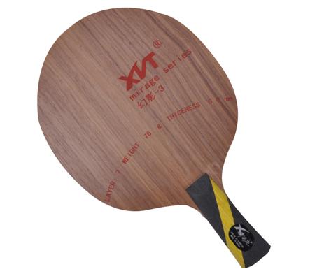 郗恩庭 幻影-3(幻影3)乒乓球底板(量轻柄细,专为儿童设计)