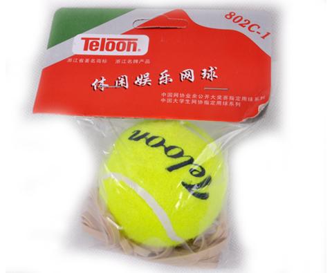 天龙Teloon 802c 带绳网球(带线网球),一个人的独舞