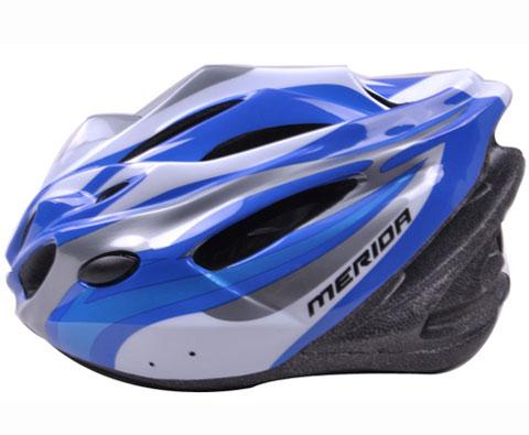 美利达MERIDA MV-28自行车头盔 蓝色