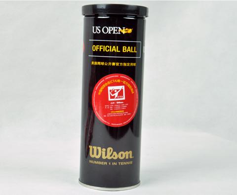 wilson维尔胜 美网铁罐 T1073 网球,美网官方指定用球铁罐装