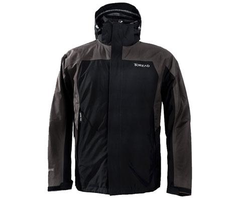 探路者Toread TABA91071男式G-TEX套绒冲锋衣(黑色)都市中享受户外的自由