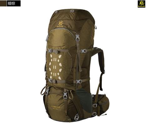凯乐石Kailas奥林匹斯Ⅳ65+10L专业登山包 KA20001暗棕色
