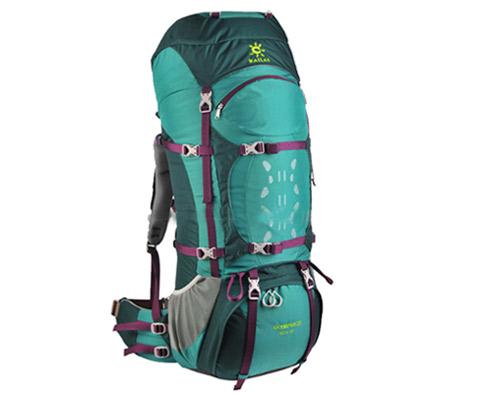 凯乐石奥林匹斯Ⅳ65+10L 专业登山包 KA20001 翡翠绿