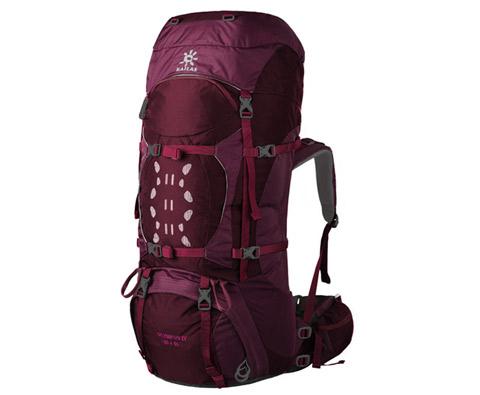 凯乐石KA20002奥林匹斯Ⅳ 55+10L玫红专业登山包,背包中的iphone