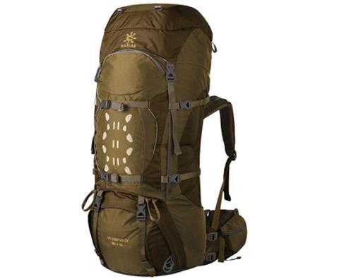 凯乐石KA20002奥林匹斯Ⅳ 55+10L暗棕色专业登山包