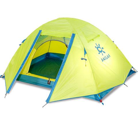凯乐石Kailas KT300102 秋梦加强版柠绿色 双人双层三季帐篷 不会错的选择