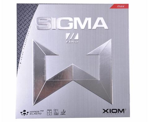 骄猛XIOM 希格玛2欧版 涩性内能套胶 (SIGMAⅡEURO)(碳素海绵,超强弧圈)79-030