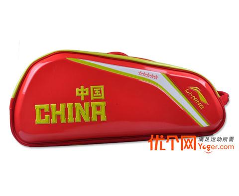 李宁ABJH054-1六只装羽毛球包(五星战包第四代,国家队指定装备)