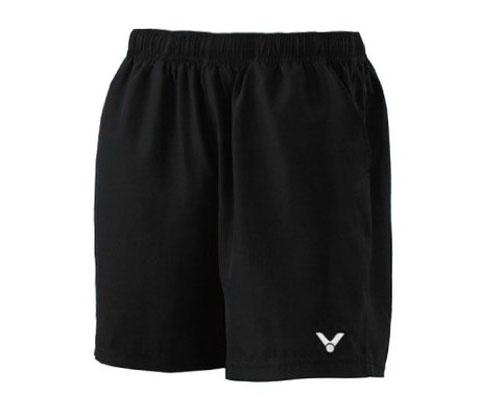 VICTOR胜利R-3096C中性款运动短裤(我人生中的第一条专业羽毛球短裤!纯黑经典重现,百搭之王)